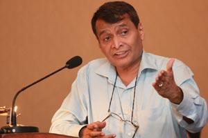 Suresh Prabhu on river interlinking project