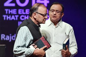P Chidambaram, Arun Jaitley