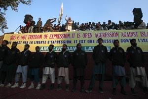 charlie Hebdo protest, Pakistan, Hafiz Saeed