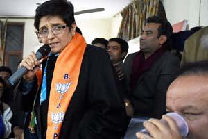 Kiran Bedi, Kiran Bedi BJP, Kiran Bedi elections