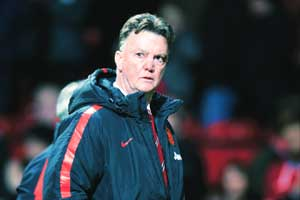 Manchester United, Louis van Gaal, Premier League
