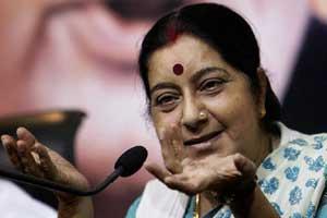 Sushma Swaraj controversy