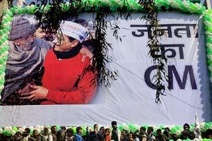 Delhi election result, delhi election highlights, arvind kejriwal, arvind kejriwal AAP, delhi election results, delhi election result 2015, Aam Aadmi Party, Bharatiya Janata Party, Narendra Modi