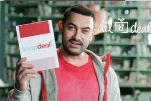 snapdeal, snapdeal offer, Snapdeal Aamir Khan, Snapdeal aamir khan ad, Aamir Khan, Aamir Khan news, Aamir Khan ad, Yeh deal bhi kya cheez hain, dil ki deal, business news