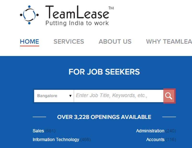 Delhi University, Teamlease