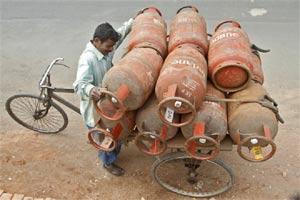 online lpg gas booking