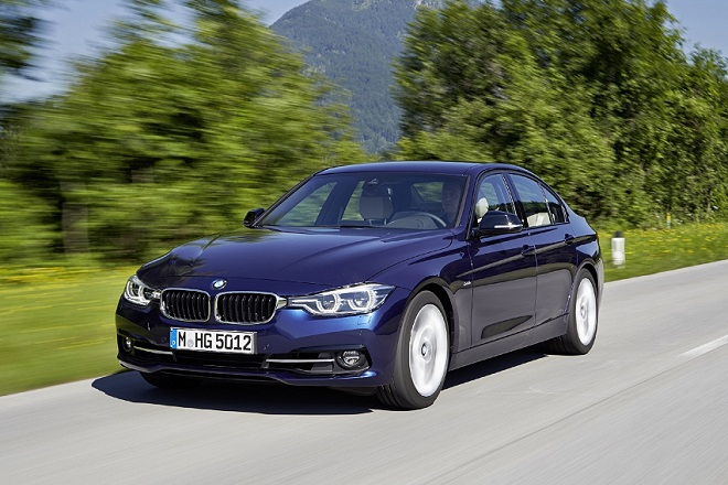 2016 BMW 3 Series facelift India