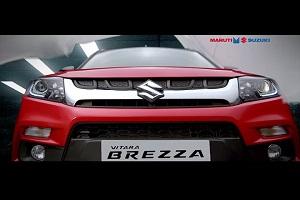 Maruti Vitara Brezza SUV Auto Expo 2016