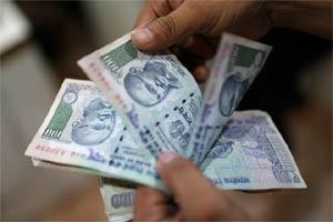 Indian rupee vs US dollar