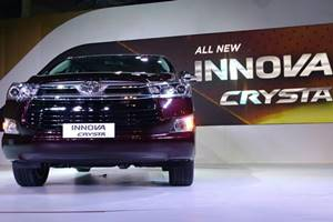 New Toyota Innova Crysta Auto Expo 2016