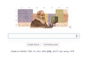 Google doodle, Google doodle today, Google doodle Dmitri Mendeleev, Dmitri Mendeleev, Dmitri Mendeleev birth anniversary, Russian chemist, Internet search giant, Google