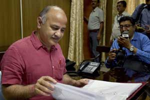 Presenting the budget, Delhi Finance Minister and Deputy Chief Minister Manish Sisodia said that the planned expenditure has been pegged at Rs 20,600 crore and non-plan at Rs 26,000 crore. (AP)