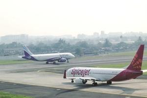 jet airways spicejet indigo shares