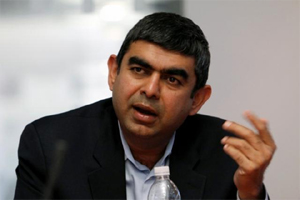 Infosys CEO Vishal Sikka Q1 results
