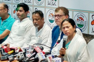 Mamata Banerjee, Trinamool Congress, Derek O'Brien, Bengal Global Business Summit, Mukul Roy, Abhishek Banerjee