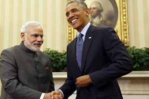 Narendra Modi, Barack Obama