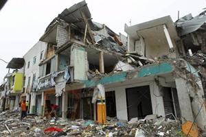 earthquake, quito, ecaudor, Rafael Correa