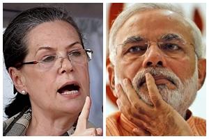 Sonia gandhi, narendra modi