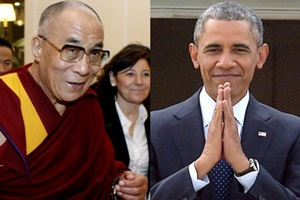 Obama has hosted the 80-year-old spiritual leader four times since coming to office. (Reuters)