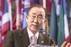 Saudi Arabia Secretary-General Ban Ki-moon
