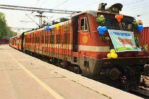 Indian railways, Indian railways website, irctc.co.in, Railway Minister, Suresh Prabhu, IRCTC, Tiger Express, tiger express train, tiger conservation