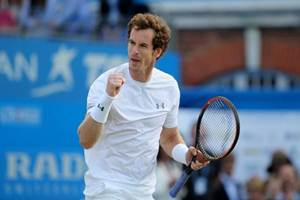 andy murray, andy murray news, andy murray record, andy murray wins fifth queen's crown, Novak Djokovic, fifth Queen's final, Wimbledon
