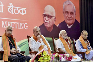 BJP National Executive Meet Day 2: Amid intense speculation over its face for Uttar Pradesh assembly polls, the BJP on Sunday made it clear that any announcement about Chief Ministerial candidate can only be taken by the party's Parliamentary Board. (PTI)