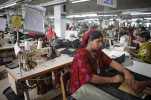 women in garment industry