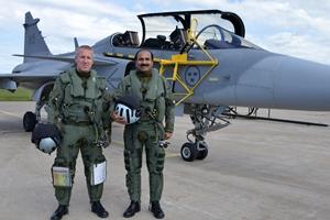 Arup Raha Gripen, IAF Gripen, IAF chief Gripen