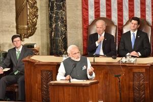 Modi in US, modi in us congress