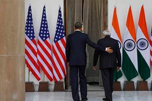 India is the only country which has been endorsed by the Obama administration for a permanent member of the UN Security Council. (AP photo)