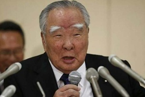 Suzuki will stay on as chairman, the company said, adding that Executive Vice President Osamu Honda will retire.