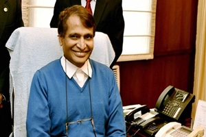 Suresh Prabhu, Indian Railways