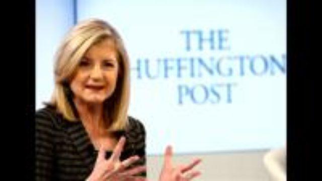 Arianna Huffington leaving HuffingtonPost