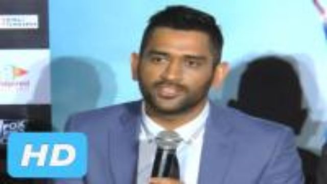 M.S.Dhoni Gives LifeLessons