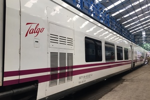 talgo, talgo train, talgo train india, talgo train in india latest news, talgo train rajdhani route