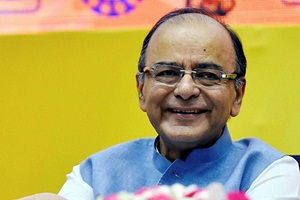 Finance minister Arun Jaitley said three options were under consideration for projecting the revenue growth rate: A mutually agreed-upon fixed rate (PTI)
