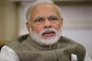 The Prime Minister will hold live telecast discussions with farmers from Vigyan Bhavan, New Delhi. (AP)