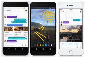 Allo only supports Google-related services right now—you still can't book a cab from the chat itself—you can expect Google to move in that direction soon since other chats are already doing more than that.