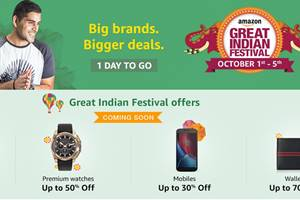 Amazon, Amazon Great Indian Festival, Amazon Great Indian sale, amazon india, amazon mobile, amazon offers, Amazon Great Indian sale start, Moto G4, Moto G4 sale, Moto G4 price, Redmi Note 3, Redmi Note 3 price, Redmi Note 3 sale on amazon sale, Microsoft Surface Pro 4, Flipkart Big Billion Day, Flipkart Big Billion Day sale, amazon offers today, amazon offers on mobile, amazon smartphone offers