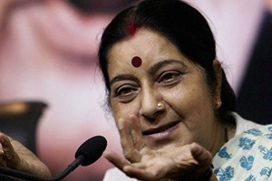 The opposition's reaction came after the government briefed an all-party meeting about the operation, and external affairs minister Sushma Swaraj drove across to 10, Janpath, at around 4 pm to brief Congress president Sonia Gandhi.