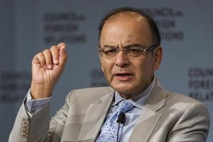 """After a meeting with top bankers and government officials here, finance minister Arun Jaitley said: """"The agenda for today's meeting was whether in some cases, we can also have management team of successful PSUs in certain sectors to operate, at least in the interim, some of the plants."""" (Reuters)"""