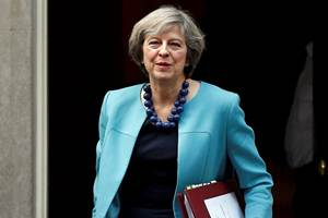 Britain already has a good visa system with India, Prime Minister Theresa May said late on Sunday as she arrived in the country for her first bilateral trip outside of the European Union since June's Brexit vote.(Reuters)