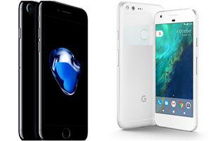 Google Pixel, Apple iPhone, Google Pixel specs, Apple iPhone specs, Google Pixel vs Apple iPhone, Pixel vs Iphone, Google Pixel features, Apple Iphones features, latest google phones, latest iphones, tech news, latest smartphones