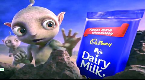 The TVC showcases the 'delicious moment of joy' of a group of aliens on tasting the new avatar of Cadbury Dairy Milk, resulting in an interstellar dance party.
