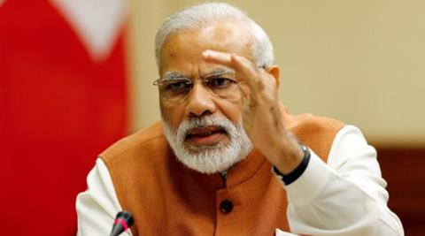 Modi won with 18 per cent of the vote when the poll closed last night, getting significantly more votes than his closest contenders, including Obama, Trump and Wikileaks Founder Julian Assange, who all received 7 per cent of the 'yes' vote. (Reuters)