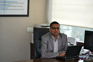 Sameer Gandhi, MD, Omron Automation, India