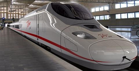 Talgo, Talgo India, Talgo bullet train, Talgo Avril, Talgo Avril bullet train