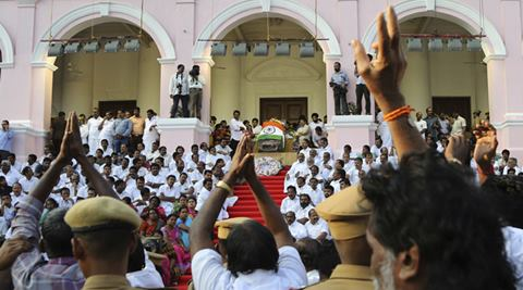 During her tenure, Jayalalithaa was quick to pounce on new ideas and innovations to attract investments into the state.  (Associated Press)