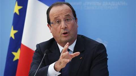 French President Francois Hollande told British Prime Minister Theresa May that negotiations over Britain's exit from the European Union should begin as soon as Britain invokes Article 50. (Reuters)